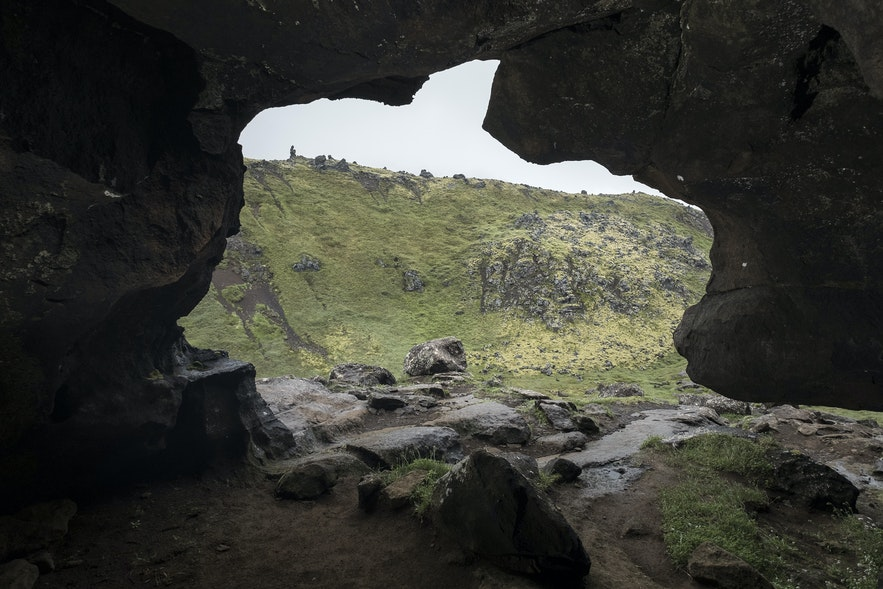 Sönghellir - Singende Lavahöhle