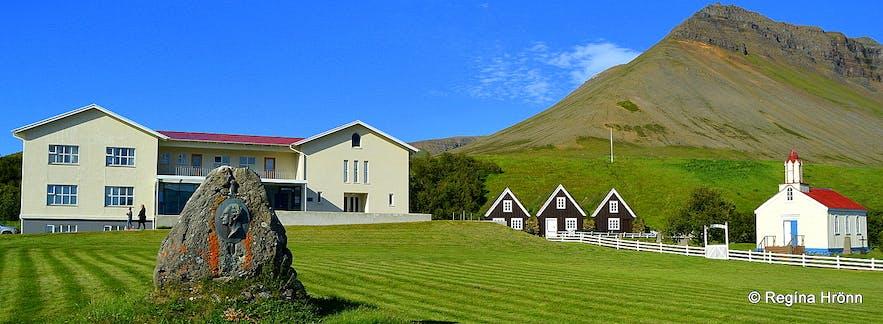 Hrafnseyri museum in the Westfjords