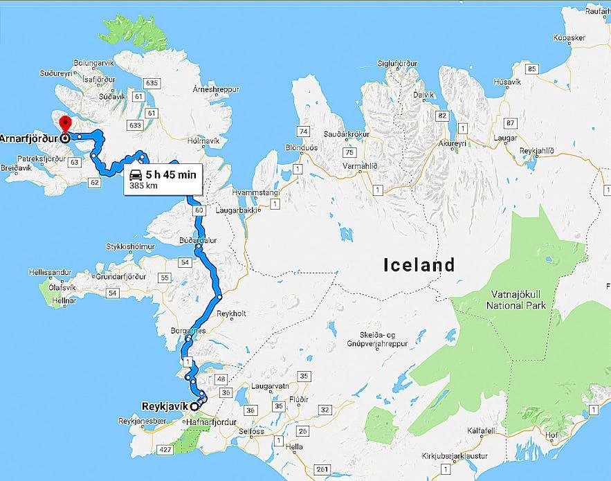 Arnarfjörður Fjord in the Westfjords of Iceland - the Sea Monster Fjord of Iceland!