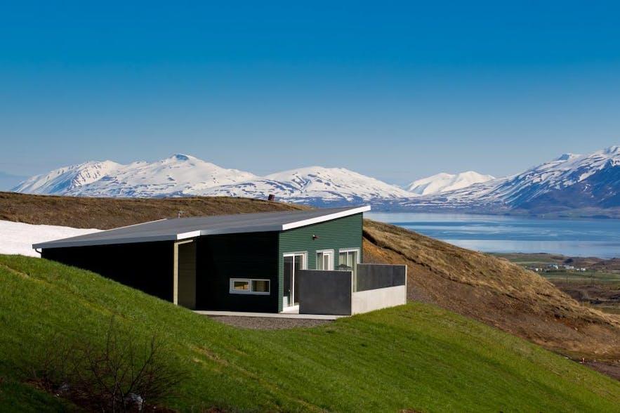 北部冰岛阿克雷里郊外豪华海景别墅