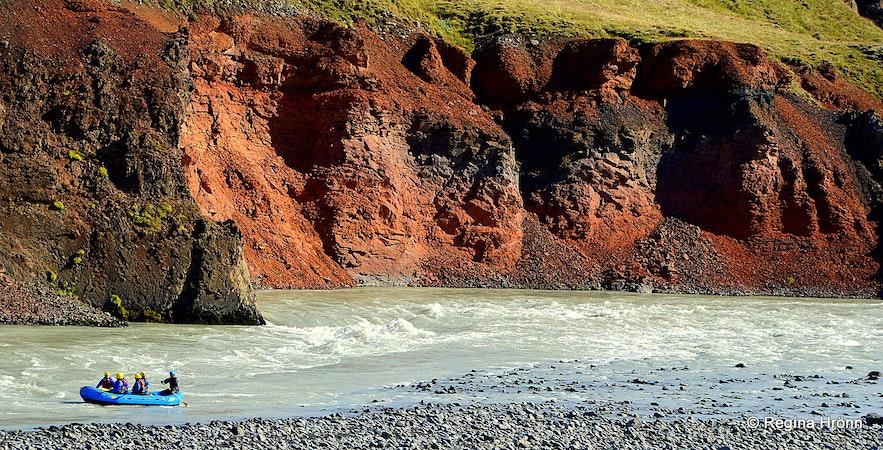River rafting in Skagafjörður N-Iceland