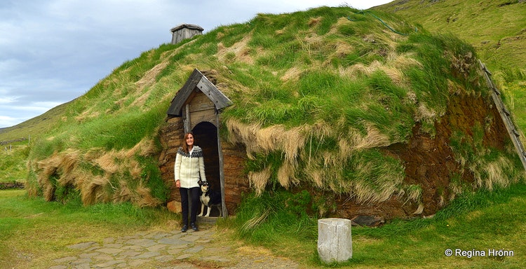 Viking Areas In Iceland Eiríksstaðir Long House In West