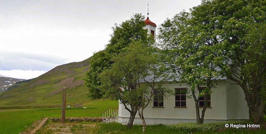 Hvammskirkja church Hvammur í Dölum