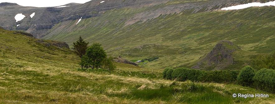 Tungustapi in Sælingsdalur valley West-Iceland