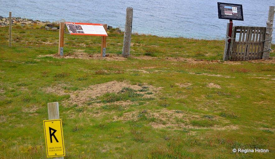 Hringsdalskumlið pagan graves in Arnarfjörður