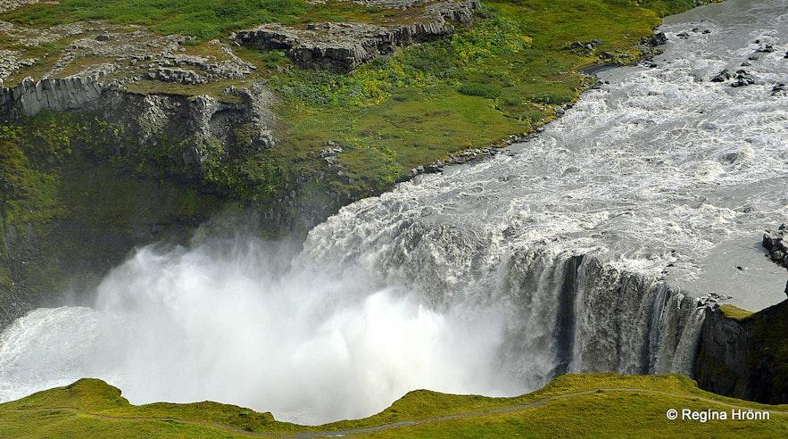 Hafragilsfoss waterfall