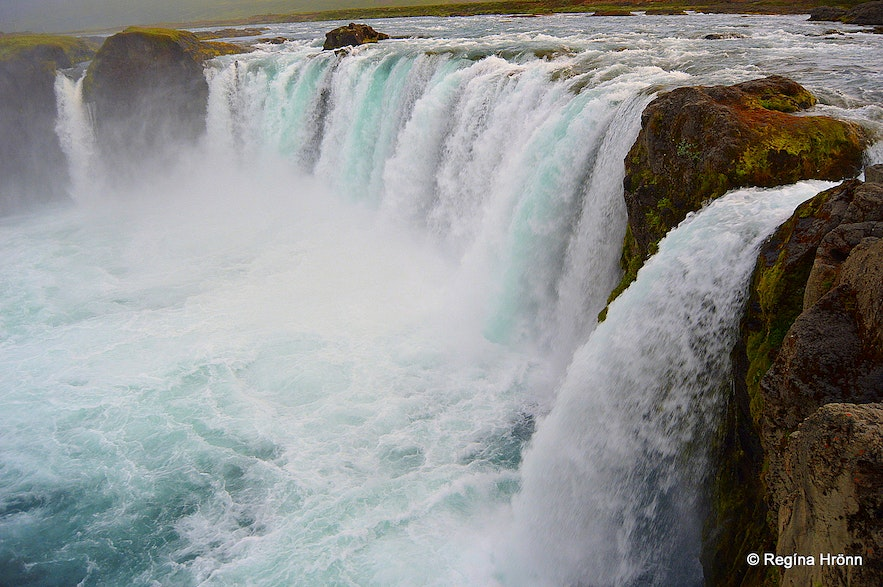 Goðafoss waterfall - the Waterfall of the Gods
