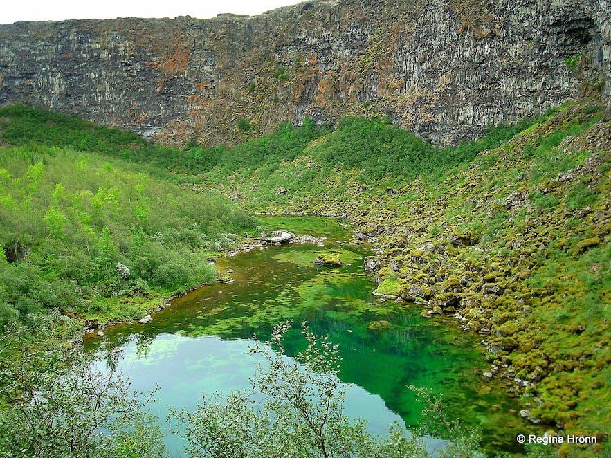 Ásbyrgi in northeast Iceland
