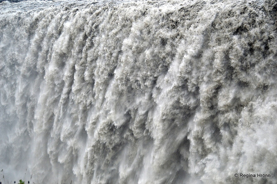 Dettifoss waterfall is Iceland's most powerful waterfall, located in northeast Iceland