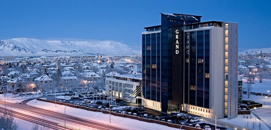 The Grand Hotel Reykjavik is among the top choices for accommodation, as chosen by business travellers.