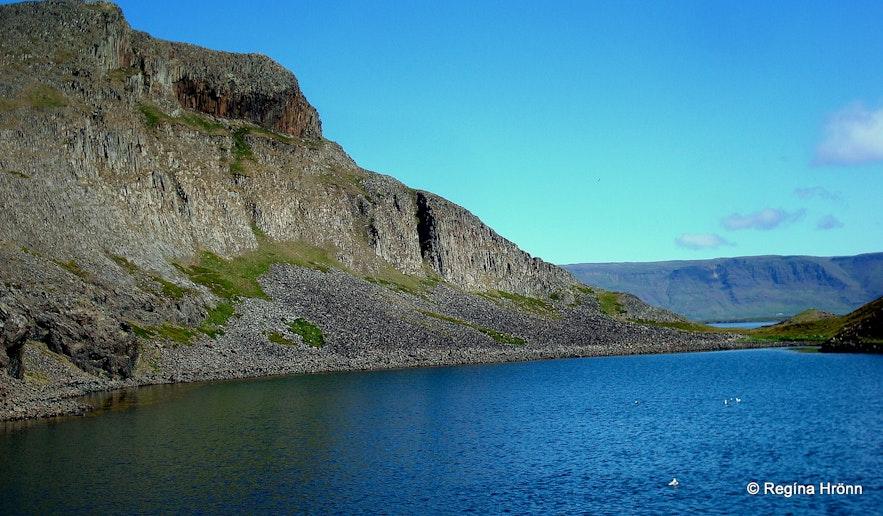 Hiding place of Eirik the Red in Breiðafjörður bay, west Iceland