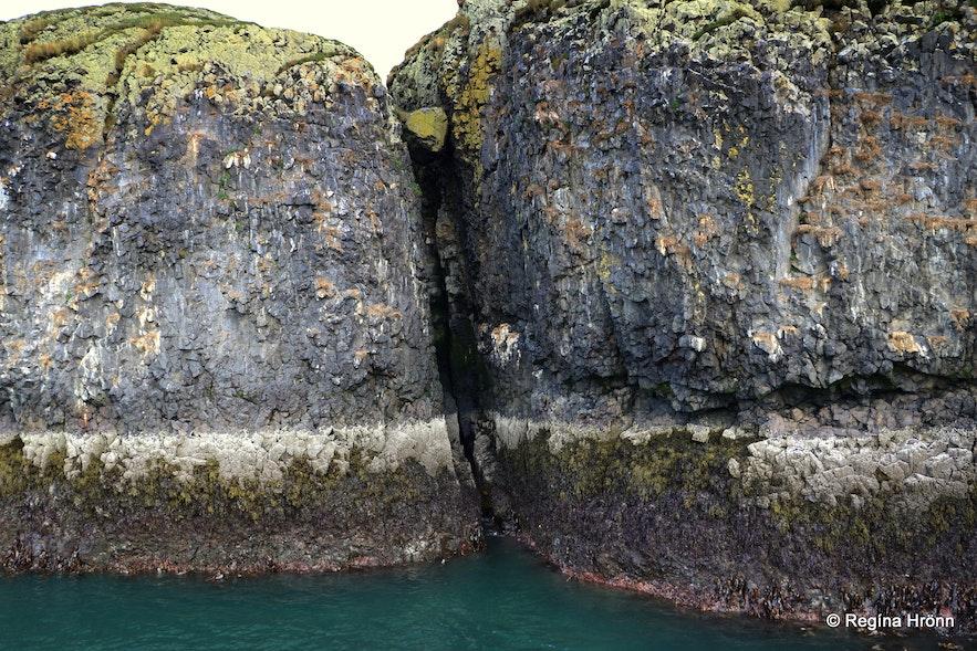 Hvítbjarnarey island in Breiðafjörður bay, west Iceland