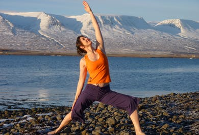 Yoga & Hiking   6 Day Winter Tour in North Iceland