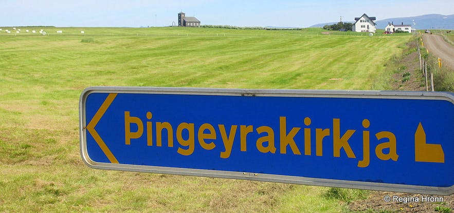 Þingeyrakirkja church in North-Iceland