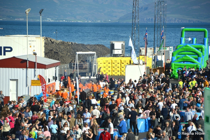 The Great Fish Day in Dalvík, north Iceland