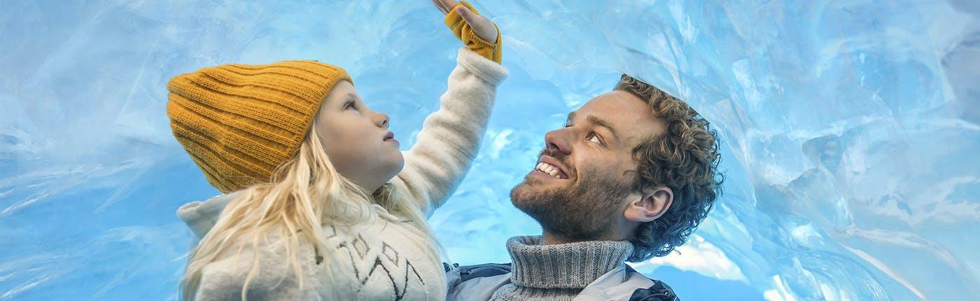 Replika lodowca na Islandii