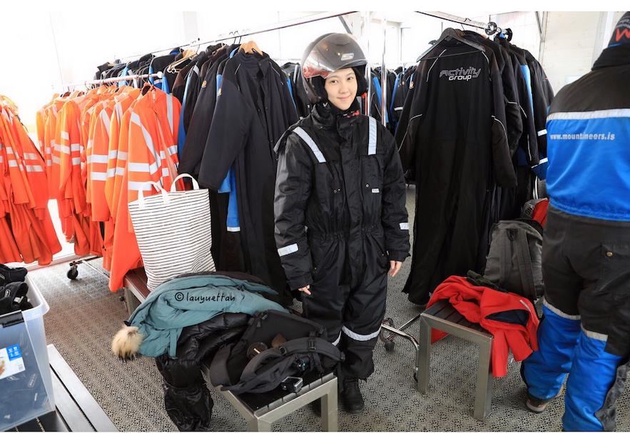 冰島雪地摩托裝備
