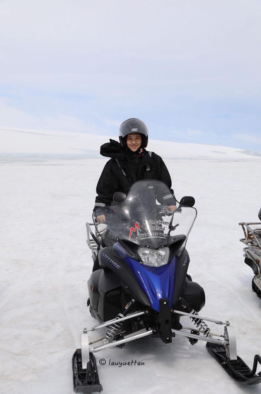 冰川雪地電單車冰島