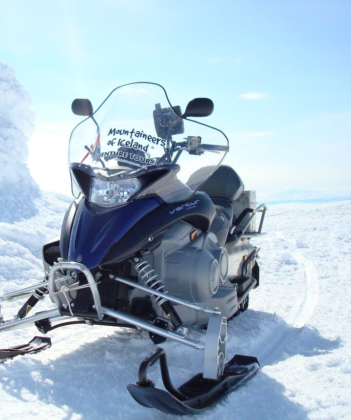 冰島冰川雪地機車