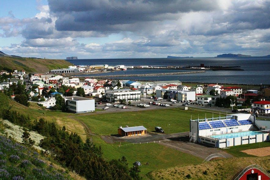 Sauðárkrókur is the largest settlement in Skagafjörður.