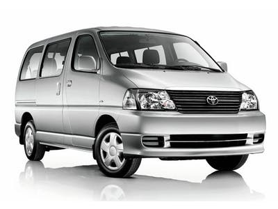 Toyota Hiace 4x4 9 seats 2012
