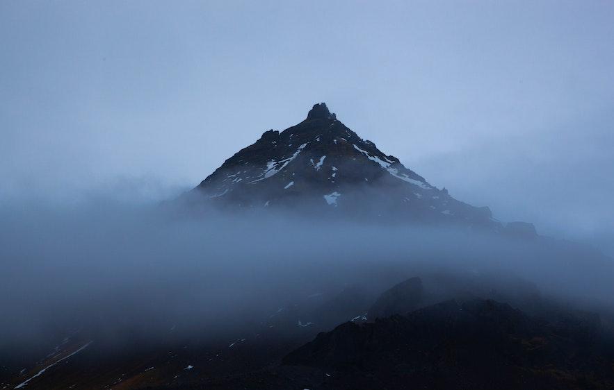 冰島孤傲的景色