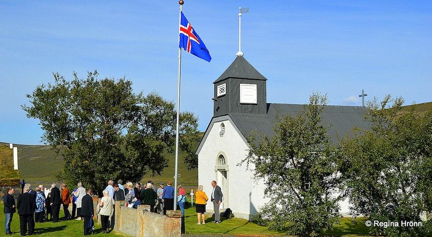 Þverárkirkja church North-Iceland