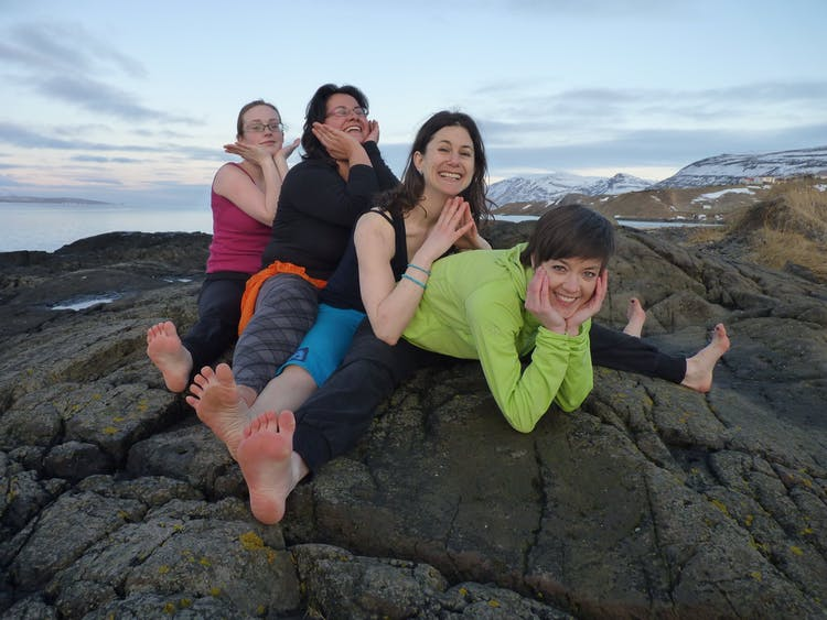 Come along on this tour and try out yoga poses in nature.