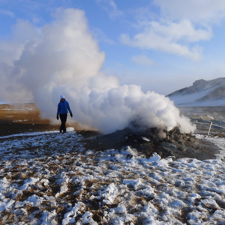 Explore the geothermal area of Námaskarð on this tour.