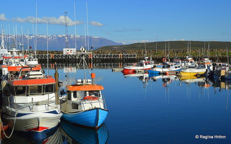 Dalvík harbour North-Iceland