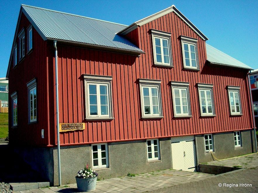 Hús Hákarla- Jörundar is a museum in Hrísey