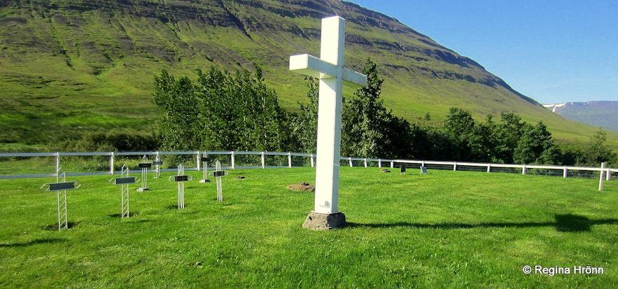 The graveyard at Myrká