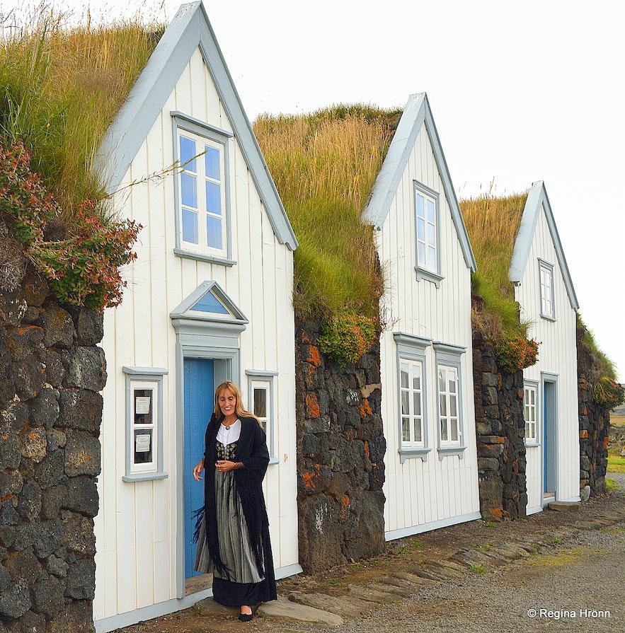 Grenjaðarstaður turf house in North-Iceland