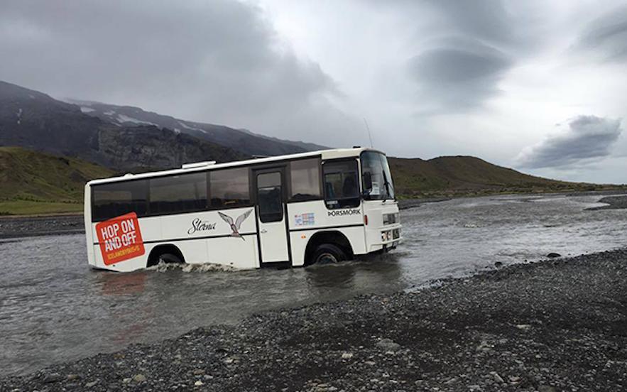 冰島索斯莫克自駕渡河