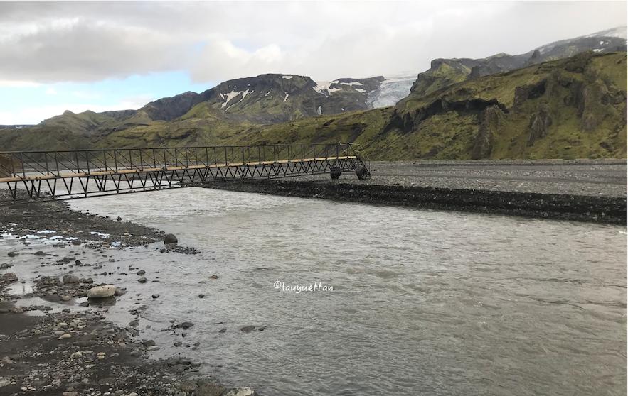 冰島中央內陸高地河路段