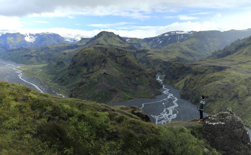 冰島中央內陸高地索斯莫克山谷