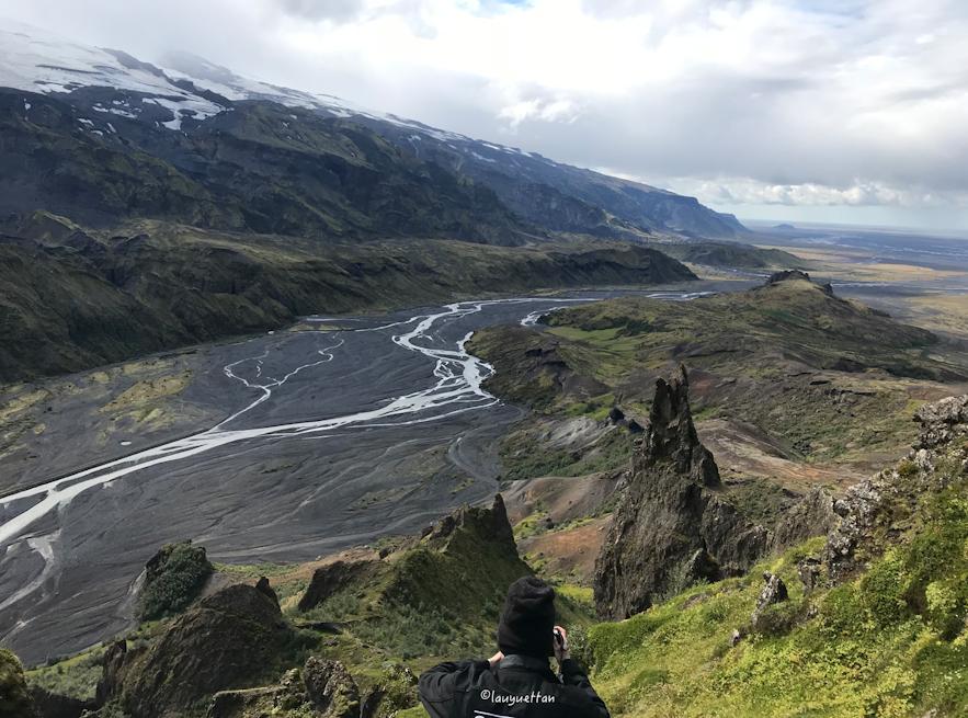 冰島夏天內陸高地景色