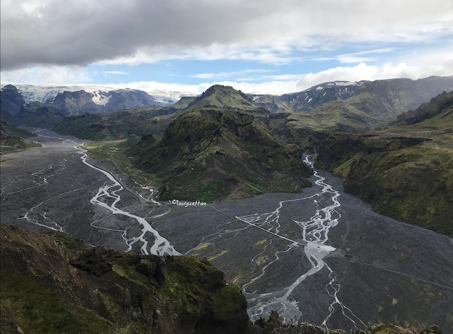 冰島夏天遠足徒步旅行
