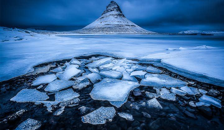 冬のアイスランド一周旅行14日間 スナイフェルスネス半島、レイキャビク自由行動付き