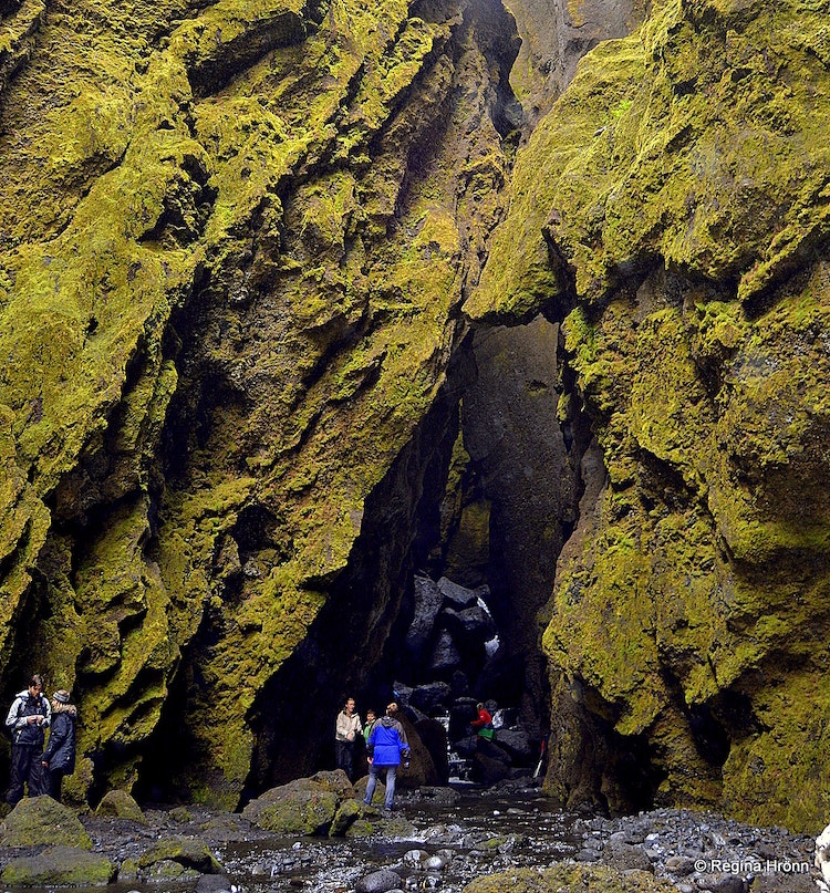 A lovely Hike into the mysterious Stakkholtsgjá Canyon in South-Iceland