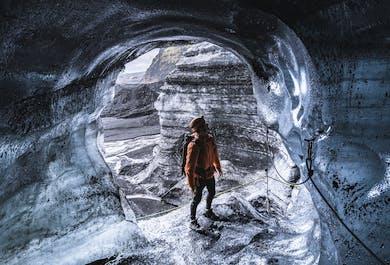 Grotta di ghiaccio di Katla   Partenza da Vík