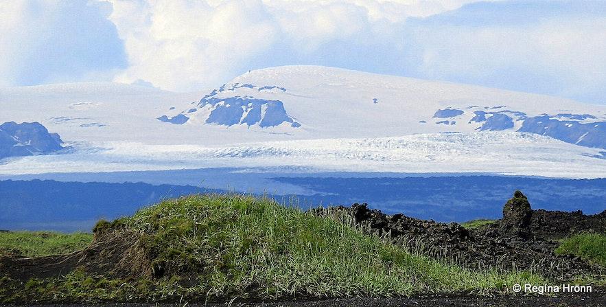 Mýrdalsjökull glacier and Katla