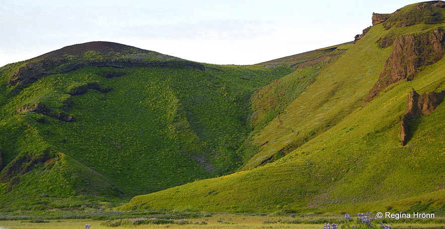 Hjörleifshöfði cape South-Iceland
