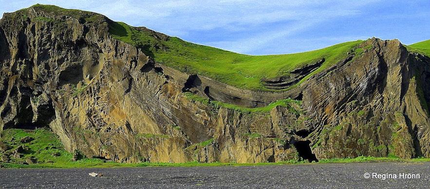 Hjörleifshöfði South-Iceland