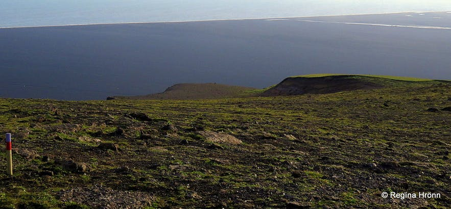 Kötlutangi spit as seen from Hjörleifshöfði cape