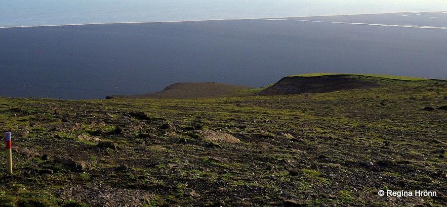 Kötlutangi spit as seen from Hjörleifshöfði cape