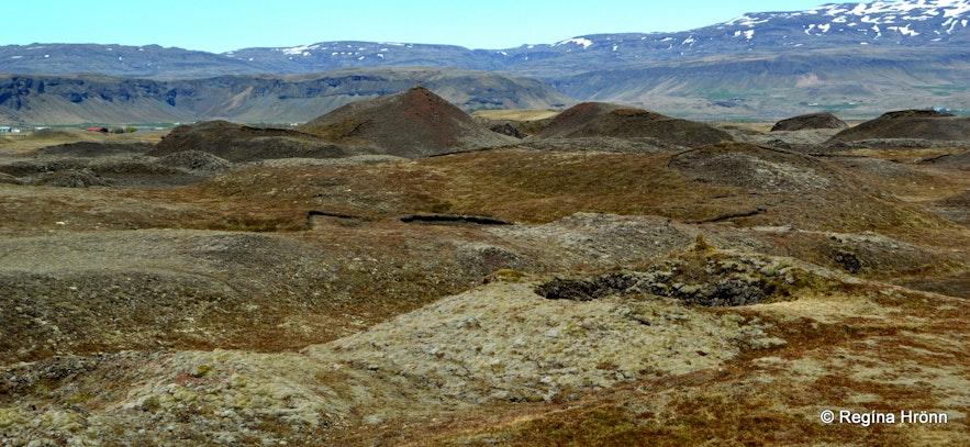 Landbrotshólar pseudocraters S-Iceland