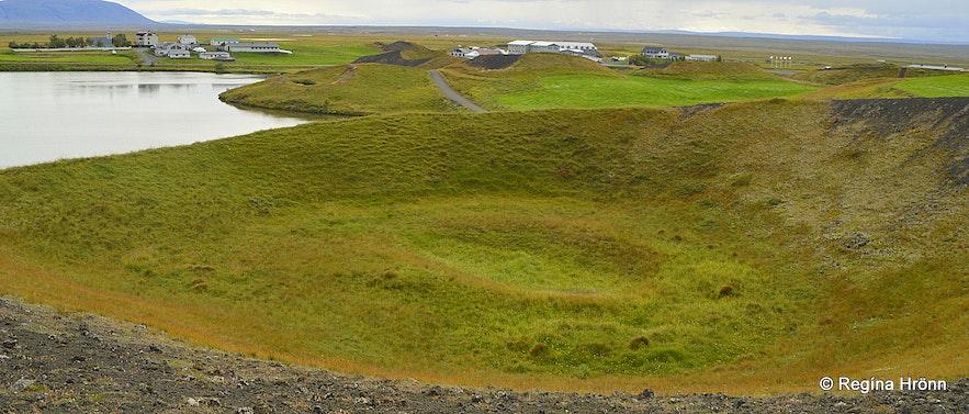 Skútustaðagígar pseudocraters at Mývatn