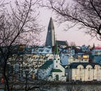 Hallgrímskirkja church is arguably Reykjavík's most iconic landscape and can be seen from all around the city.