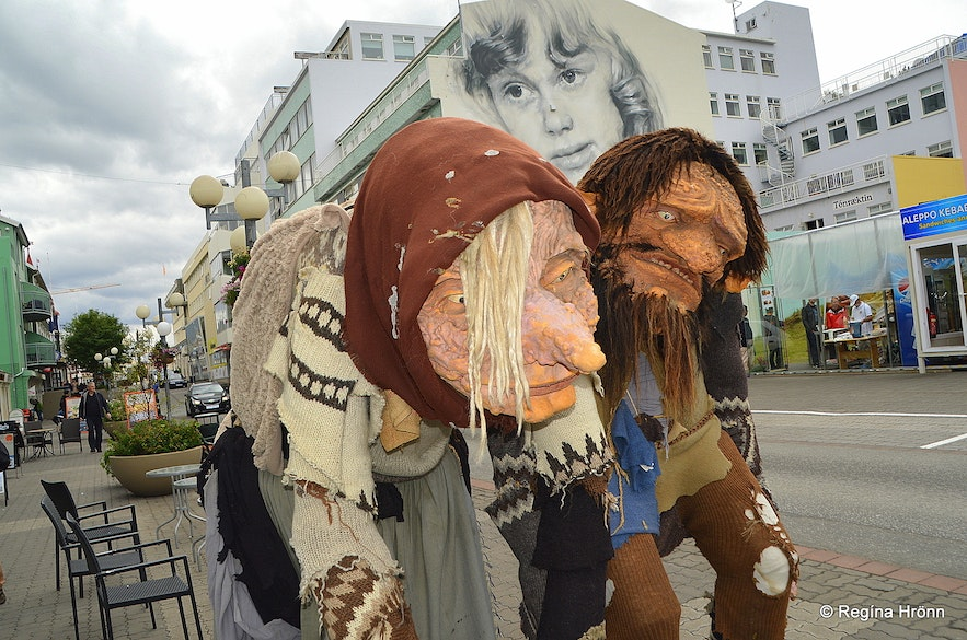 The parents of the Icelandic Yule lads in Akureyri